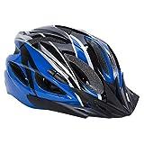 Babimax Casco de Ciclismo de 25 Respiraderos con Alta Estabilidad para Bicicleta Casco de Seguridad con Extremadamente a Prueba de Golpes para Adultos y Niños (Azul, Negro)