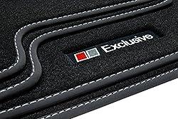 tuning-art E704 Fußmatten Exclusive-Line Bandeinfassung Steppnaht
