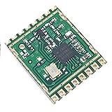 YuLinStyle Small Size SI4438 Funkmodul 433M SPI-Schnittstelle 1,5 km Kommunikationsentfernung, Funkmodul Elektronikmodul -