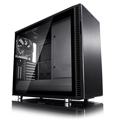 Fractal Design Define R6 Blackout Tempered Glass  FD-CA-DEF-R6-BKO-TG