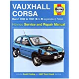 Vauxhall Corsa (93-97) Service and Repair Manual