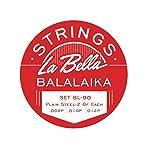 La Bella Balalaika-Saiten, Stahl, 3Stück