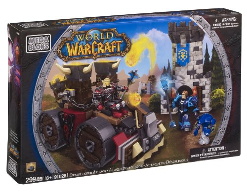 Mega Bloks 91026 World of Warcraft Máquina Asedio