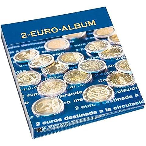 Álbum para monedas NUMIS, conmemorativas de 2 Euros, francés y inglés,Tomo 4