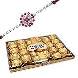 Rakhi With Ferrero Rocher Chocolates