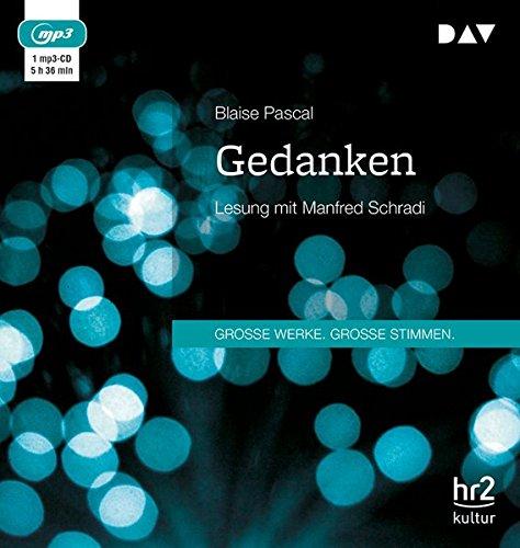 Gedanken: Lesung mit Manfred Schradi (1 mp3-CD)