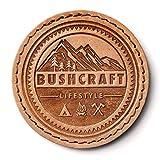 Bushcraft Lifestyle Leder Patch (leather)