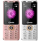 Snexian M6044 Combo Of Two Mobiles Dual Sim Mobile Phone With 0.3 MP Camera And 2.4 Inch Display(Silver+Rose Gold)