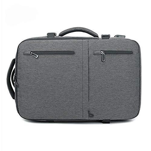 CNCBT Laptop-Rucksack, beiläufiger Rucksack des Geschäfts im Freien Starker Schultergurt Mehrfach-USB-Ladeanschluss Kann 15-Zoll-Laptop unterbringen, für Tourismus,B
