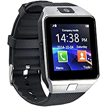 Bingo T30 Bluetooth Smartwatch (Silver, Black)
