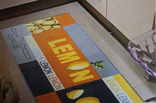 Andiamo Teppichläufer Küchenläufer 67 x 200 cm vers. Farben/Motive (Gelb)