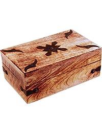 Mejor diseño de cofre del tesoro de todos los 1039/criada & / Maiden baúl, madera, 20 x 13 x 8 cm (1 pcs)