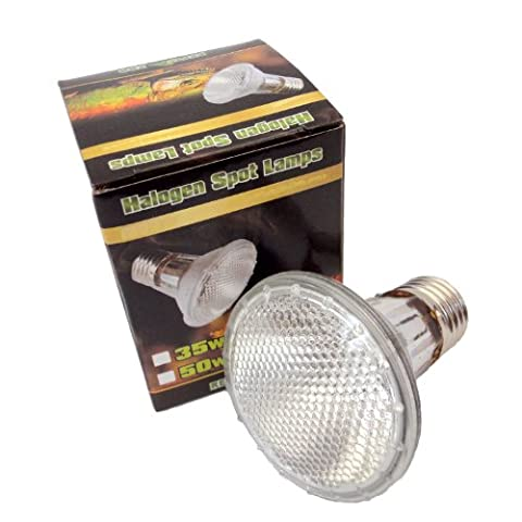 Reptile Vivarium Halogen Spot Lamp 35W E27 Screw Type