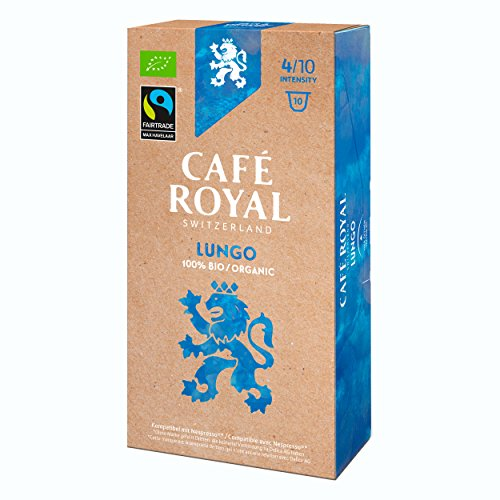 Café Royal Fair & Organic lungo Bio, caffè, caffè tostato, Capsule, Nespresso Compatibile, 40Capsule 2