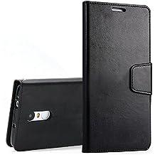 Xiaomi Redmi Note 3 Funda KKtick PU Cuero Billetera Caso Soporte Plegable, Ranuras de Tarjetas Diseño para Xiaomi Redmi Note 3