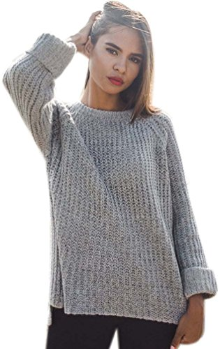 Oversized Sweaters Frauen Locker Pullover Damen Longpullover Winterpullover Strickjacke Warme Winterjacke Pulli Herbst Winter