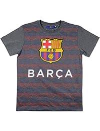 FC Barcelone - Tee shirt FC Barca officiel enfant gris - 8 ans,10 ans,12 ans,14 ans,11 ans,9 ans