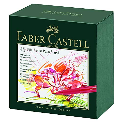 Faber Castell 167148 Tuschestift brush Atelierbox