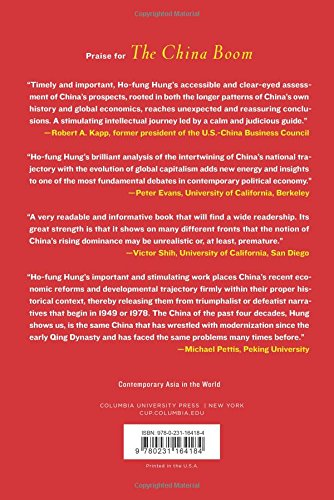 China Boom: Why China Will Not Rule the World (Contemporary Asia in the World)