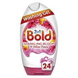 Bold 2-in-1 Washing Gel with a Touch of Lenor Long Lasting Freshness, 24 Washes, 888 ml, Sparkling Bloom and Yellow Poppy
