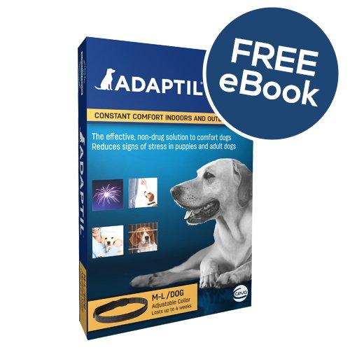 ADAPTIL Collar Medium/Large – INCLUDES EXCLUSIVE PETWELL® / ADAPTIL® E BOOK