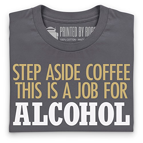 Step Aside Coffee T-Shirt, Damen Holzkohle
