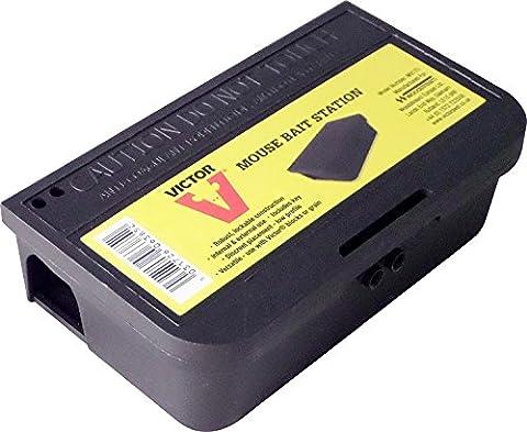Victor M917U Dispositif de piège à souris verrouillable Noir 7,5