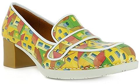 The Art Company, Damen Slipper & Mokassins gelb gelb