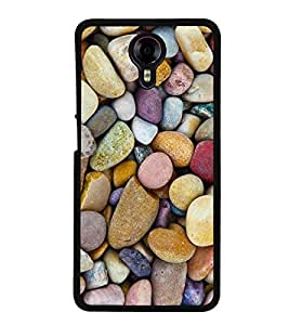 Colourful Marbles 2D Hard Polycarbonate Designer Back Case Cover for Micromax Canvas Xpress 2 E313