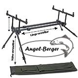 Angel-Berger Luxus Rod Pod verschiedene Modelle mit Tasche (Luxus Rod Pod)