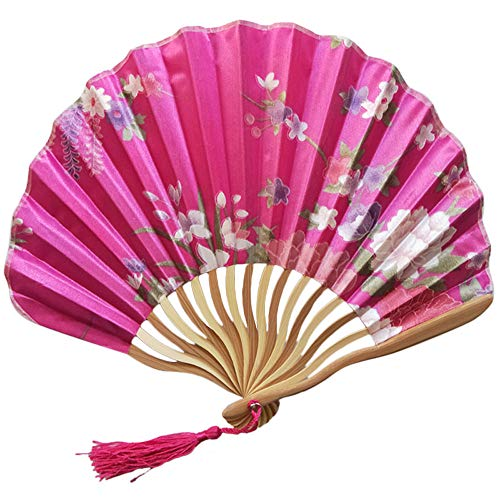 Syeytx chinesischen Stil Hand Fan Bambus Papier Folding Dragon Messer Fan Wandventilator, Hochzeit, Party, Tanz, Karneval Dekor
