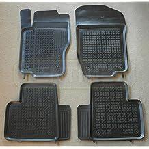 1998-2005 3-teilige schwarze Gummifußmatte für MERCEDES W163 M-Klasse Bj