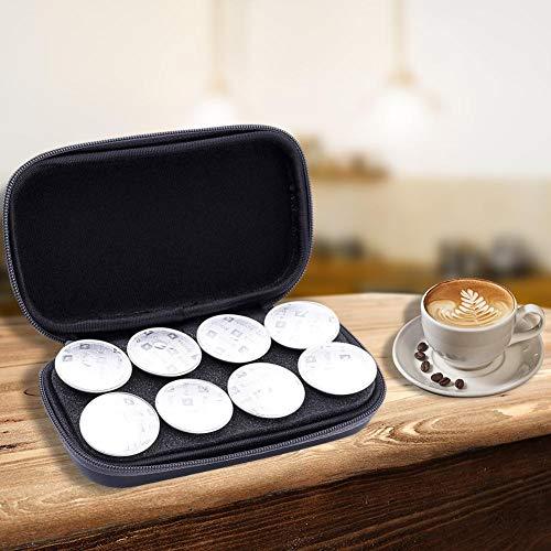 funnyfeng Kaffeekapseln Aufbewahrungskiste Tragetasche, Capsule Coffee Storage Bag Compatible Capsules 8er Pack Für Kapsel Kaffee Tragbare Kaffeetasche Für Den Außenbereich - Kcups Casa