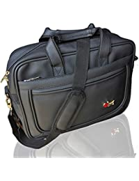 Trajectory ROYAL Premium Quality Office Laptop Bag In Matte Black Look And Multiple Features