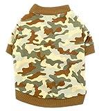 smalllee _ Lucky _ almacenar ropa para pequeñas de mascota Perro Gato 100% algodón camiseta,...