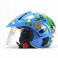 Kids Bike Helmet, Child Motorbike Helmet, Lightweight Safety Helmet for 3-8 Years Old Kids
