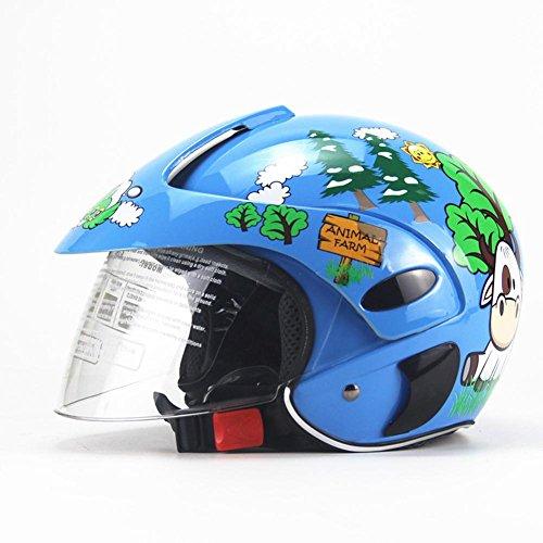 HEIRAO Casco de Bicicleta para niños, Casco de Moto Infantil, Casco de Seguridad Ligero para niños de 3 a 8 años