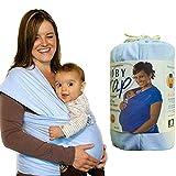 Shsom Atmungsaktive Babyschlingen, Und Leichtes Tragetuch Für Neugeborene Von Geburt Baby Wrap, Bambus-Baumwolle-Elastane, Für Neugeborene-35 Lbs,Darkgray