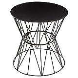 Atmosphera - Table d'appoint Noir Jym