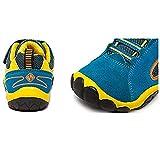SAGUARO Jungen Trekking Wanderschuhe Kinderschuhe mit Klettverschluss Leicht Sport Schuhe Outdoor Laufschuhe Mädchen Turnschuhe Sneaker, Blau 36 - 4