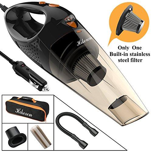 Hikeren Aspirateur de voiture, 12V 106W 4300-4500PA Eclairage LED...