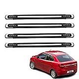 #10: Kozdiko One Pair Premium Quality Designer Corner Dots Black Bumper Protect Ford Figo::Aspire