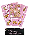 2 X NEW!! HEN PARTY GAME 'WILLY BINGO' HEN NIGHT PARTY GAMES, ACCESSORIES & FAVOURS