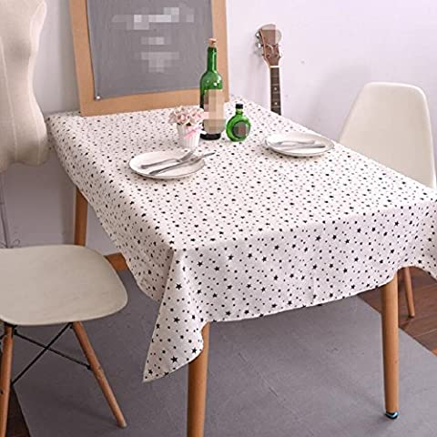 GK&H Modern simple classic cotton and linen rectangular table cloth