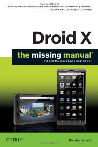 Motorola 3g Phones (Droid X: The Missing Manual)