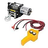 Silverline tools 748850 Paranco Elettrico, 12V, 909 kg