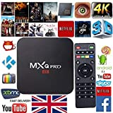 PlatinumV 2018 MXQ PRO Smart TV Box UHD 4K HDMI Android 7.1 S905W