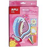 APLI Kids - Caja para crear mosaicos, goma Eva, diseño primavera (13913)