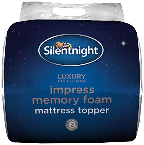 SILENTNIGHT IMPRESS 7CM MEMORY FOAM MATTRESS TOPPER - SUPER KING. 2
