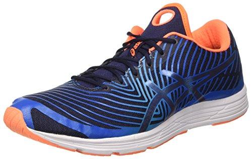 ASICS Herren Gel-Hyper Tri 3 Triathlonschuhe, Blau (Directoire Blue/Peacoat/Hot Orange), 44 EU